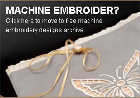 MACHINE EMBROIDER? Click here to move to free machine embroidery designs archive